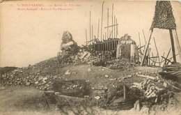 250419C - GUERRE MILITARIA BOMBARDEMENT - BELGIQUE MONT KEMMEL Les Ruines Du Belvédère - Heuvelland
