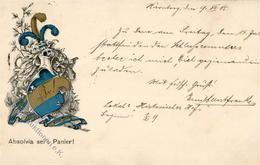 Studentika Nürnberg (8500) Absolvia Sei's Panier  1905 I-II - Sonstige