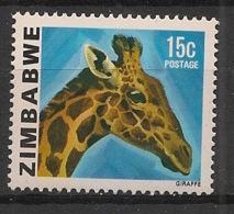 Zimbabwe - 1980 - N°Yv. 9 - Girafe - Neuf Luxe ** / MNH / Postfrisch - Giraffes
