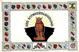 Studentika Schwarzburgbund Eule I-II - Sonstige