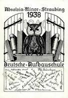 Studentika Straubing (8440) Absolvia Minor Deutsche Aufbauschule Eule I-II - Sonstige