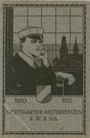 Studentika STUTTGART - Künstlerkarte Sign. A.Schmidt 1911 I - Sonstige
