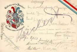 Studentika Stuttgart Catena Sei's Panier 1913 I-II - Sonstige