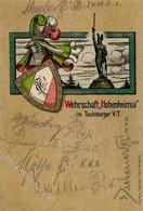 Studentika Wehrschaft Hohenheimia I-II (Marke Entfernt) - Sonstige