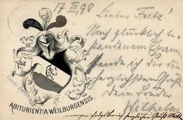 Studentika WEILBURG - 1898 I - Sonstige