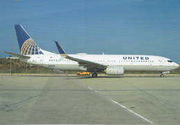 United Airlines B737-824 N38268 At Los Angeles B.737 - 1946-....: Era Moderna