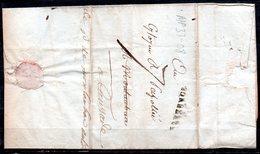 MP33-08 : Dept 33 (Gironde) MP BORDEAUX 1794 > Taxe Manuscrite > Lettre Pour CAUSSADE 82 - Marcofilie (Brieven)
