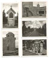 10 SMALL PHOTOS OF RHODES - SANCTUARY OF MONTE FILEREMO - EDIT. FATHERS FRANCAESCANI - RHODES. - Griekenland