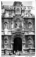 Lima - Peru - Templo De La Merced (animation To Belgium Brugge, St Kruis 1920) - Pérou