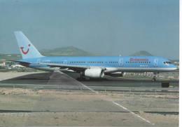 Britannia Airways B-757-204 G-BYAO At Lanzarote - TUI B.757 - 1946-....: Era Moderna