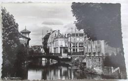 CPA 1947  5 CORBEIL SEINE ET OISE BORDS DE L ESSONNE MIROITANTE BANQUE NATIONALE ED. LIBRAIRIE A. BRETON - Corbeil Essonnes