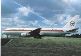 Cameroon Airlines - Africa B767-33A TJ-CAC At CDG  B.767 At CDG - 1946-....: Era Moderna