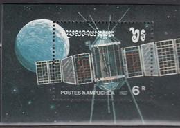 KAMBODSCHA 1987 - MiNr. 862  Block 152 - Raumfahrt