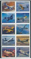 USA 2005 Mi.No. 3944 - 3953 Aviation Flugzeuge  10v MNH **   9.50 € - Ongebruikt