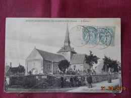 CPA - Sainte-Marguerite-de-Carrouges - L'Eglise - France