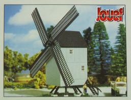 Jouef - MOULIN A VENT Maquette Kit Neuf à Monter HO 1/87 - Décors