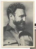 Postcard PROPAGANDA USSR Communist Party El Comandante Fidel Castro Old Soviet Union Postcard - Hombres Políticos Y Militares