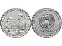 PMR Transnistrija, 2018, Swan 1 Rbl Rubel - Russia