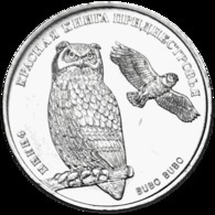 PMR Transnistrija, 2018, Eagle Owl 1 Rubel, Rubl. Rbl - Russia