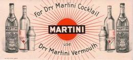 """VENDO CARTA ASSORBENTE PUBBLICITARIA """"MARTINI"""" IN PERFETTE CONDIZIONI - Liquore & Birra"""