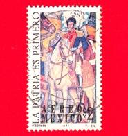 MESSICO - Usato - 1971 - La Patria Es Primero - Vicente Guerrero - 2 P. Aerea - Messico