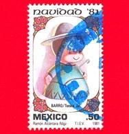 MESSICO - Usato - 1981 - Natale - Navidad - Christmas - Pastore - Shepherd - 50 - Messico