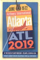Airliners International Atlanta ATL 2019 Delta Museum - 1946-....: Era Moderna