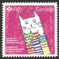 Canada Chat Cat Katze Gato Gatto Neuf Sans Gomme No Gum (214) - Chats Domestiques