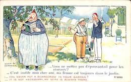 Vous Ne Mettez Pas D'épouvantail ?... Ma Femme Est Toujours Là,,, (Leven Ex Lemonier, SID's Humour) - Humour