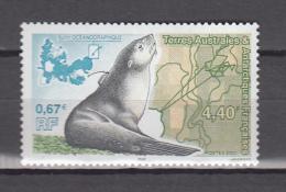 TAAF FSAT 2000,1V,seals,zeehond,siegel,sello,MNH/Postfris(A3719) - Zeezoogdieren
