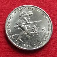 Poland 500 Zlotych 1989 Y# 185 Lt 301 WWII  Polonia Pologne Polen Polska - Pologne