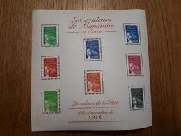 Les Couleurs De Marianne  7 Timbres - Sheetlets