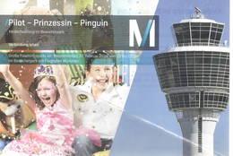 Pilot - Prinzessin - Pinnguin Munich Airport Issue Tower Control - 1946-....: Era Moderna