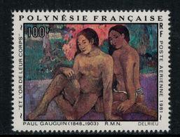 Polynésie Française // Poste Aérienne // 1981Oeuvre De Paul Gauguin Timbres Neufs** MNH Y&T No.160 - Neufs