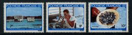 Polynésie Française // Poste Aérienne // 1982 La Perle En Polynésie Timbres Neufs** MNH Y&T No.177-179 - Polynésie Française