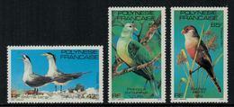 Polynésie Française // Poste Aérienne // 1981 Oiseaux Timbres Neufs** MNH Y&T No.168-170 - Polynésie Française