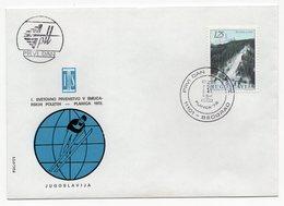 YUGOSLAVIA, FDC, 21.03.1972, COMMEMORATIVE ISSUE: PLANICA, 1ST  WORLD CHAMPIONSHIP IN SKI JUMPING - FDC