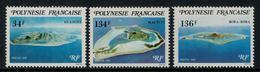 Polynésie Française // Poste Aérienne // 1981 Iles-sous-le-vent Timbres Neufs** MNH Y&T No.171-173 - Polynésie Française