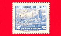 CILE  - Usato - 1962 - Panorami - Vulcano Choshuenco  - 2 - Cile
