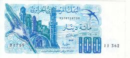 ALGERIA 100  DINAR 1981 P-131 AU/UNC */* - Algerien