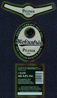 Autriche Lot 3 Etiquettes Bière Beer Labels Mohrenbräu Pilsner - Cerveza