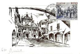 ITALIA - 1995 PIETRA LIGURE (SV) Rievocazione Storica Medioevale CONFUOCO (fuoco) Su Cartoncino Doppio Numerato E Firm. - Vacanze & Turismo