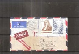 Lettre En Express De L'Ordre De Malte Vers Germany - 1980 (à Voir) - Malte (Ordre De)