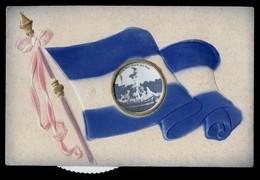 ARGENTINA - BUENOS AIRES - 1909 - CARTOLINA A SYSTEME CON 5 VEDUTINE GIREVOLI - RARA!!!!! - Argentina