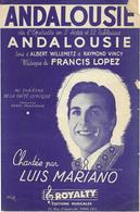 Andalousie - Luis Mariano (p;Albert Willemetz & Raymond Vincy ; M: Francis Lopez), 1947 - Música & Instrumentos