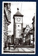 Freiburg Im Breisgau. Schwabentor. Tour Des Souabes Avec St. Georges. Franchise Militaire.Poste Aux Armées.  1956 - Freiburg I. Br.