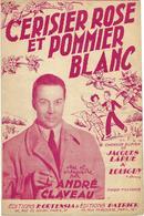 Cerisier Rose Et Pommier Blanc - André Claveau (p;Jacques Larue ; M: Louiguy), 1950 - Música & Instrumentos