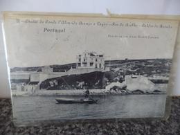CALDAS DA RAINHA - PORTUGAL - FOZ DO ARELHO - CHALET DO CONDE D'ALMEIDA ARAUJO E LAGÔA - CARIMBO 1909 - Leiria