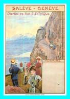 A769 / 363   Carlo Pellegrini Affiche Pour Chemin De Ferr Saleve Geneve - GE Genève