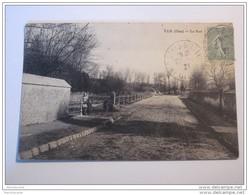TEL13 -     VER Dans Oise Le Gué 1921  Taxe - Autres Communes